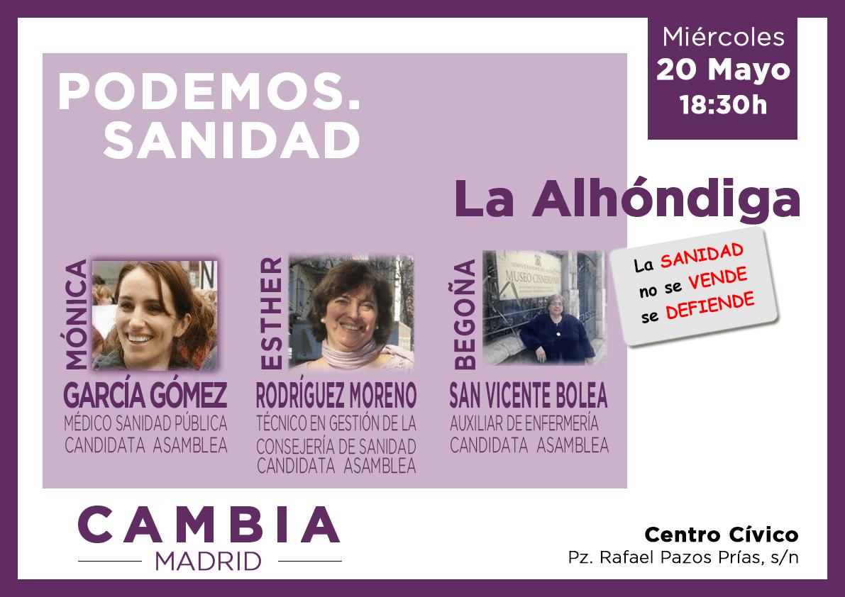 Acto de Podemos en Getafe