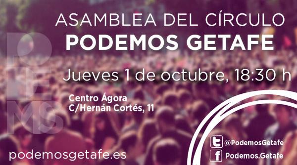 Próxima Asamblea del Círculo: jueves 1 de octubre, a las 18:30h