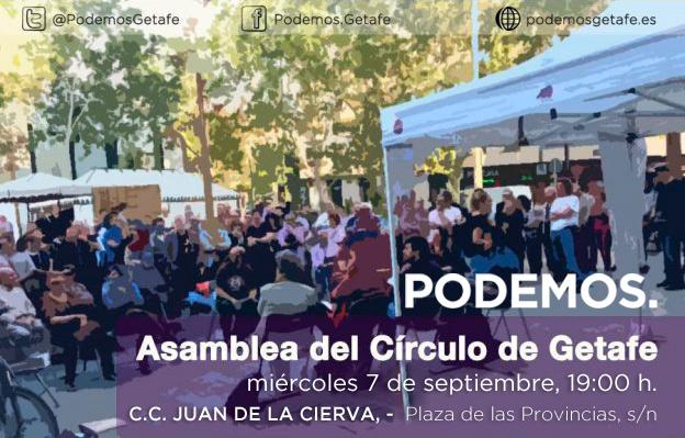Asamblea Círculo de Podemos Getafe