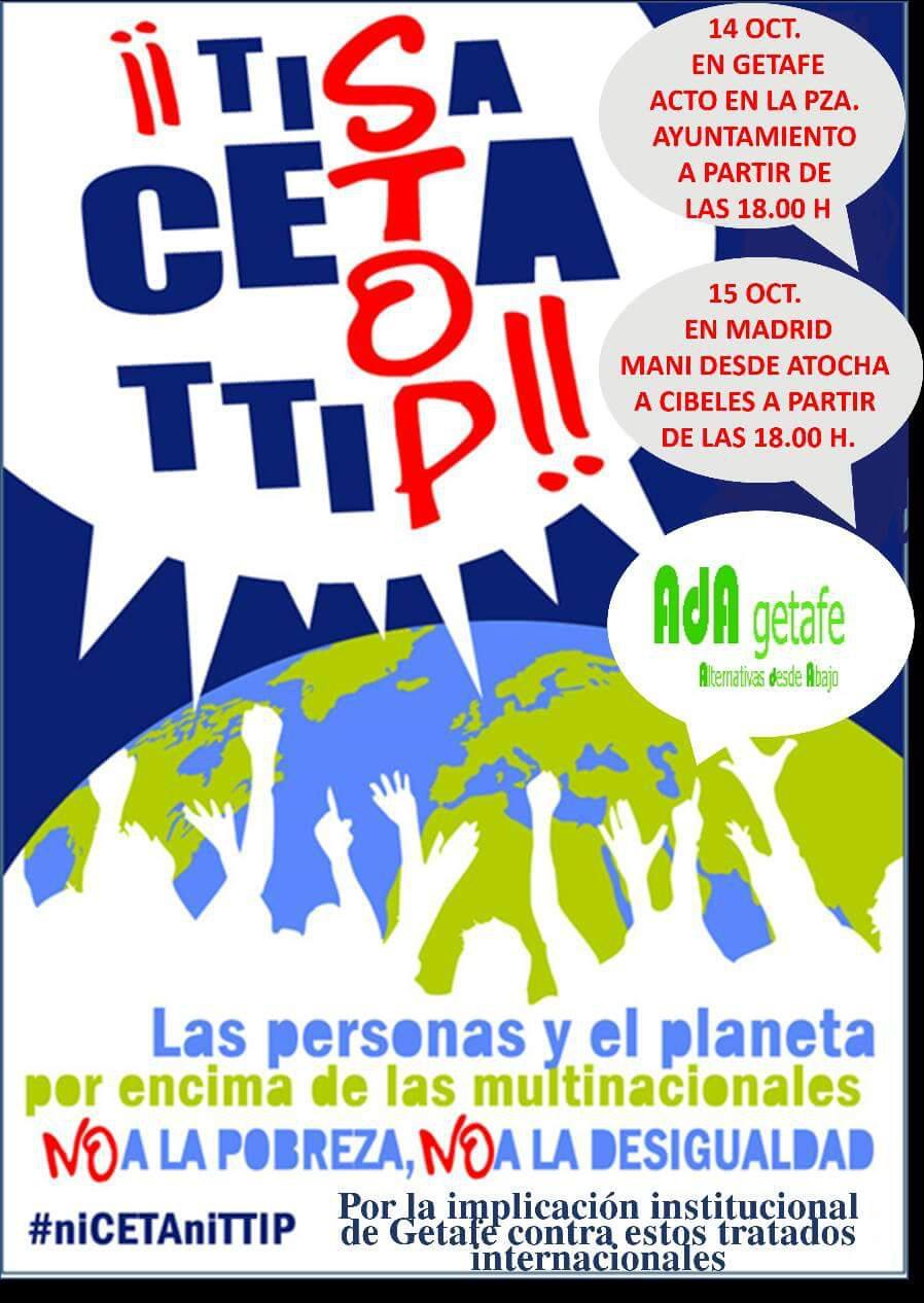 Exigencia al ayuntamiento declaracion contra el TTIP
