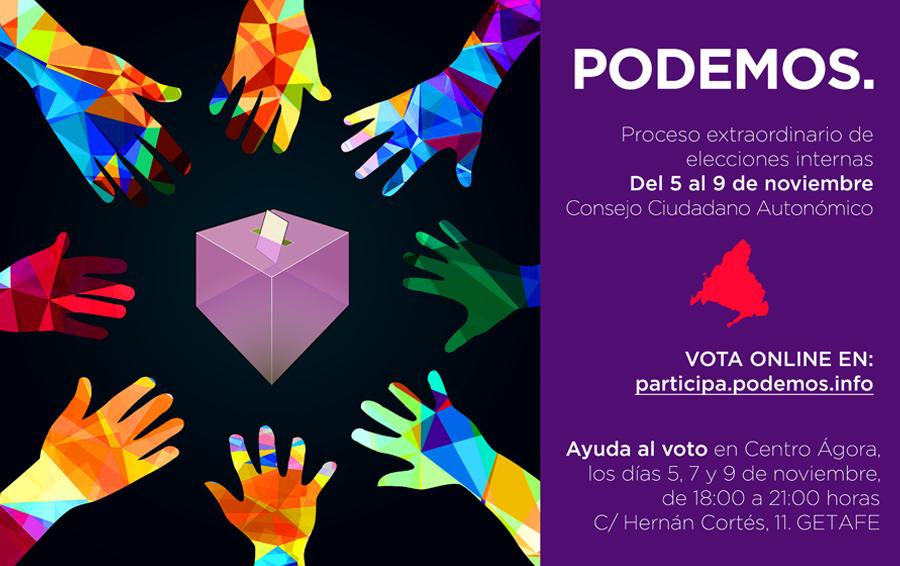 Votación Consejo Ciudadano Autonómico CAM