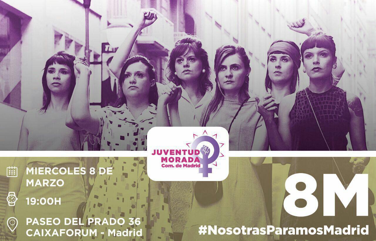 8 de marzo de 2017 #NosotrasParamosMadrid