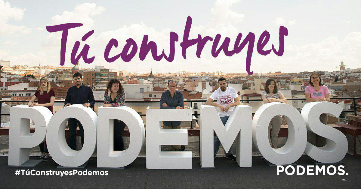 ¡Apúntate como militante en Podemos Getafe!