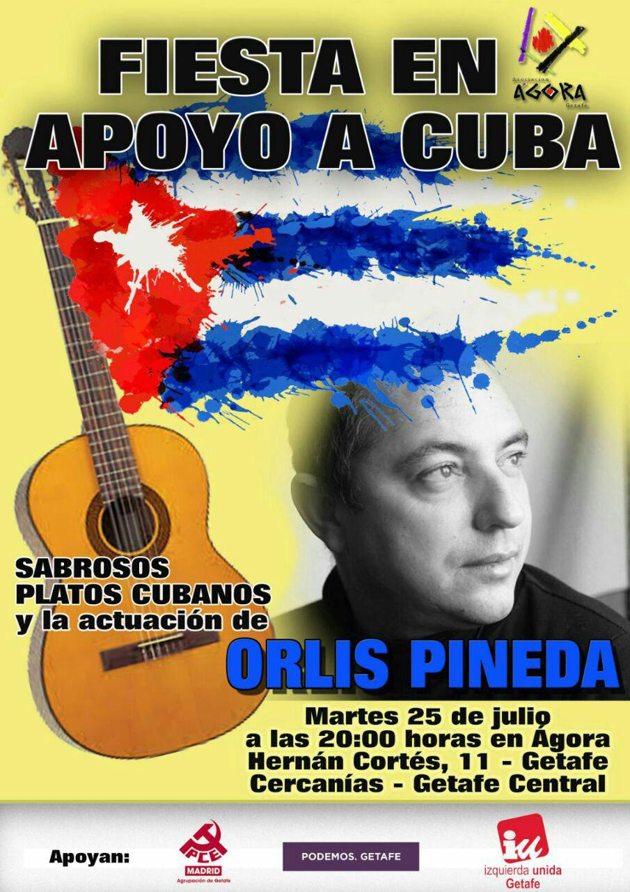 Fiesta en apoyo a Cuba