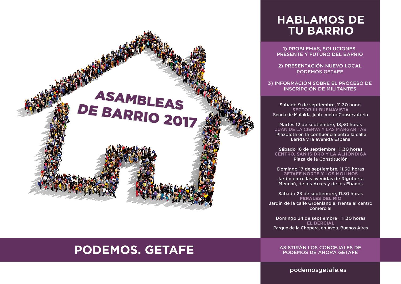 Asambleas de barrio 2017