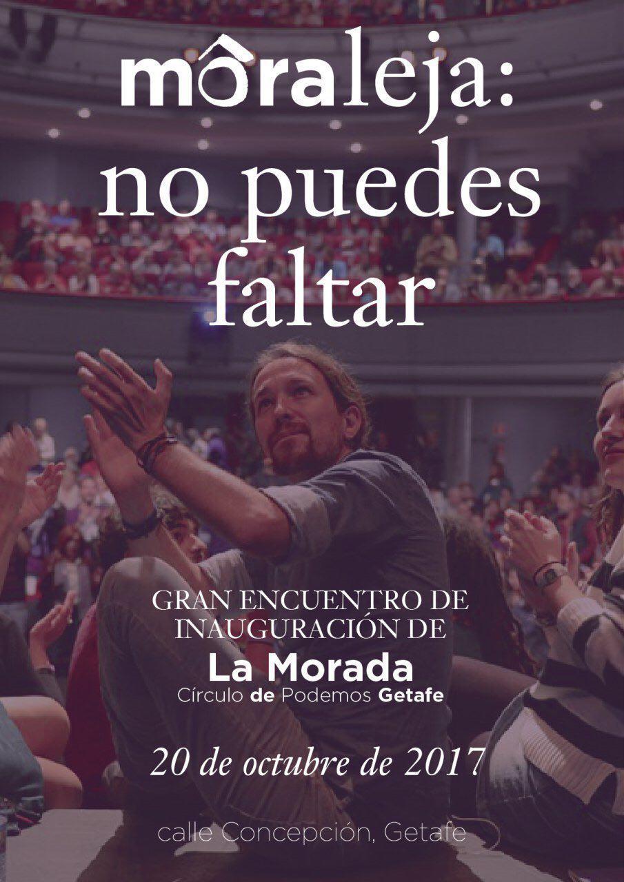 Gran inauguración de La Morada del Círculo Podemos de Getafe