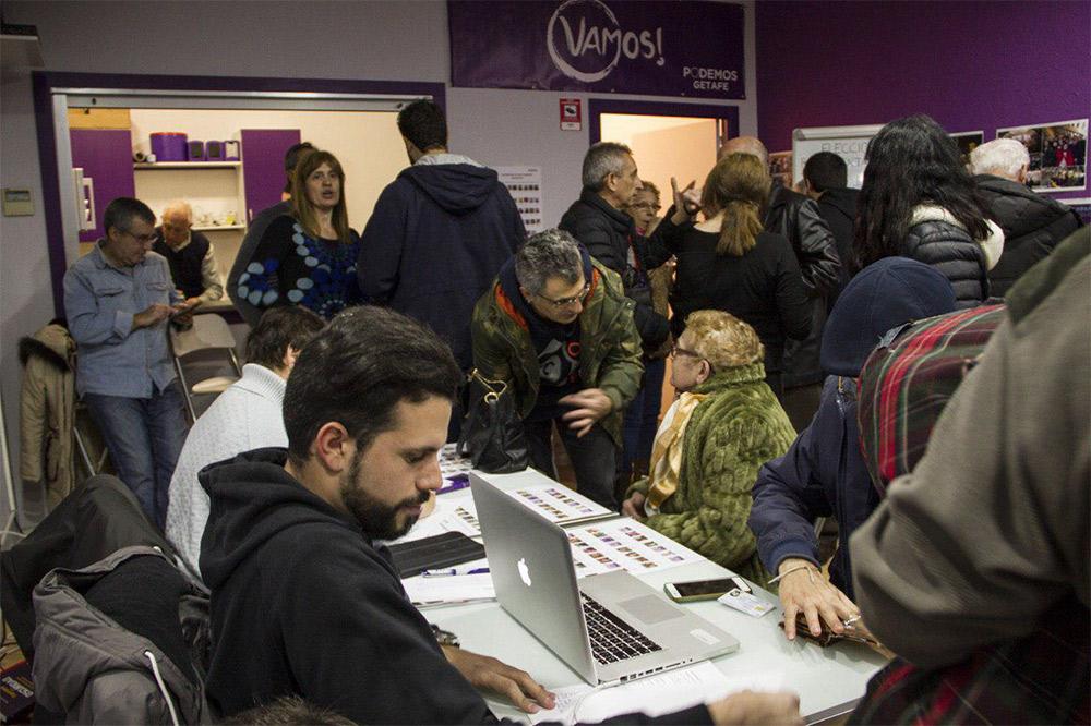Hugo Paternina es elegido representante de los círculos en la dirección regional de Podemos