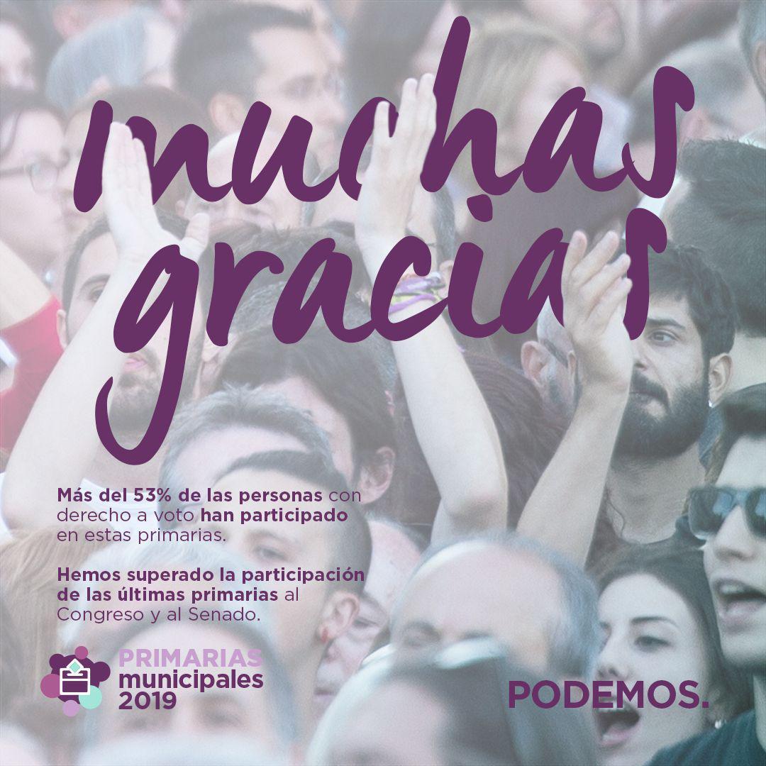 Finalizan las primarias de Podemos Getafe