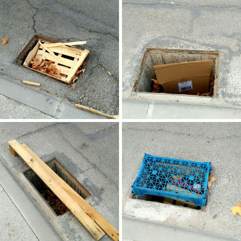 El grupo municipal de PODEMOS solicita se repongan las tapas de las alcantarillas de la avenida 14 de abril