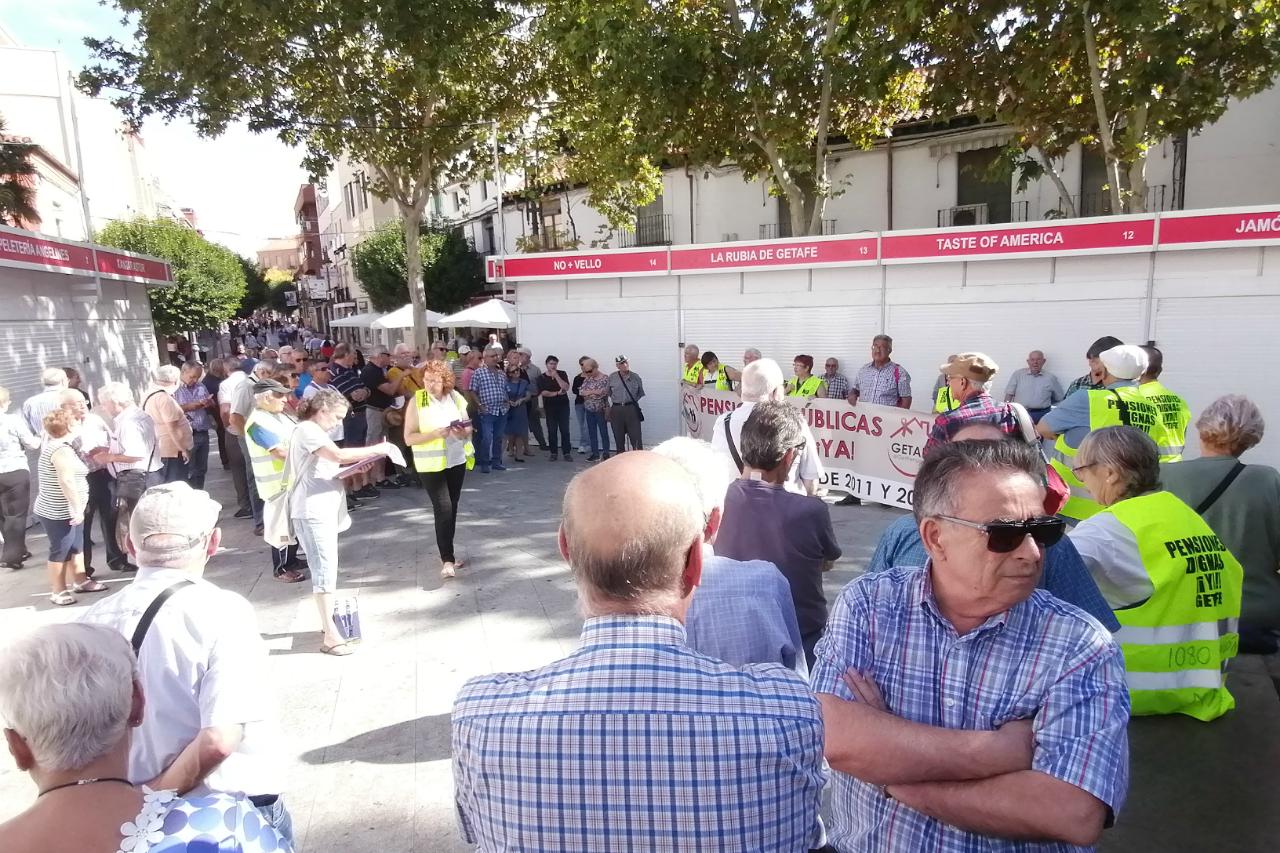 Podemos Getafe presenta una proposición de apoyo a las marchas de pensionistas y sus reivindicaciones