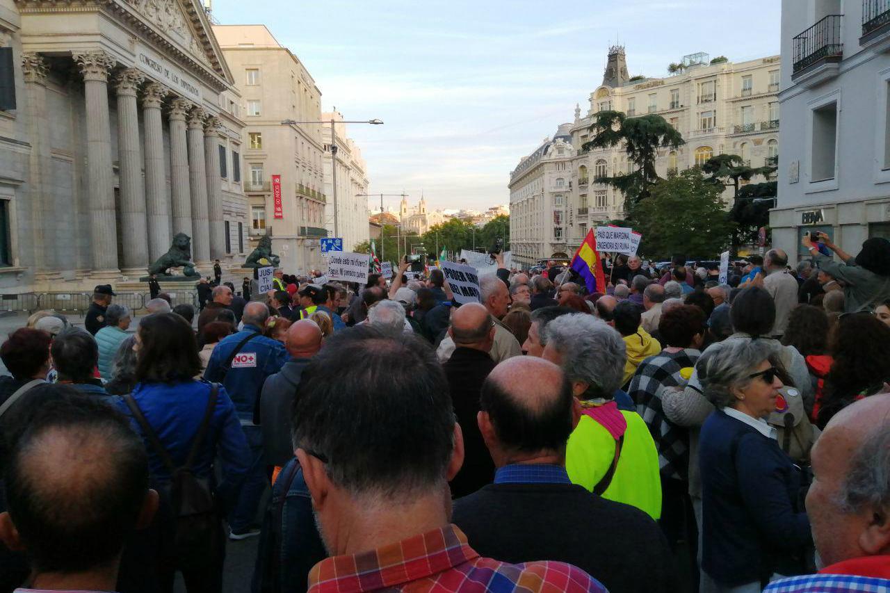 PP y Vox en contra del sistema público de pensiones