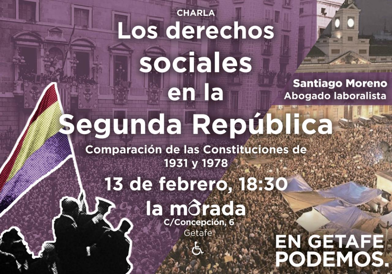 Los derechos sociales en la segunda república