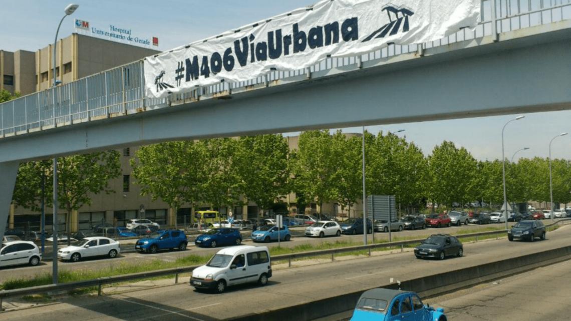 Podemos apoya la petición del Consejo de Movilidad para adaptar la M 406 a las bicicletas