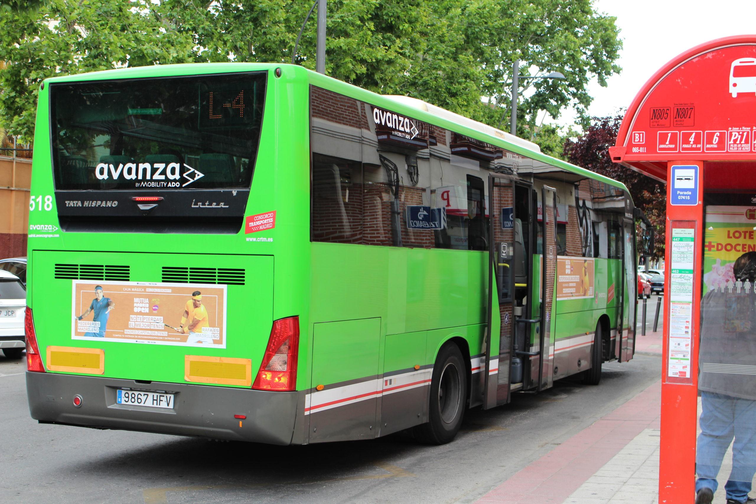 Podemos Getafe exige al CRTM habilitar las fórmulas alternativas necesarias para facilitar el acceso al bus a todas las vecinas y vecinos de Getafe