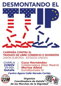 cartel TTIP 22M