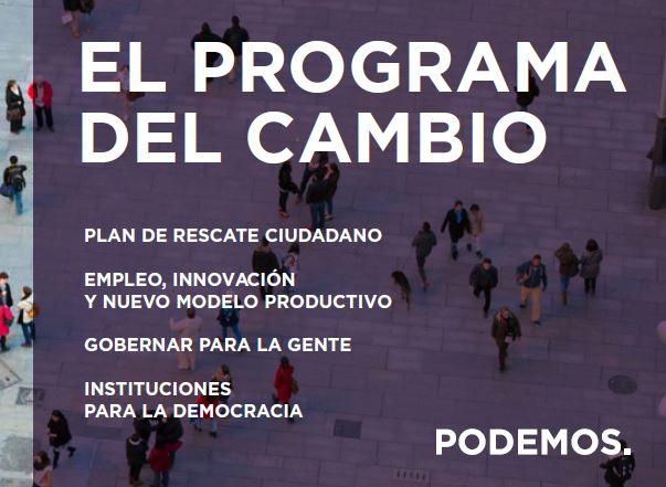Programa marco elecciones autonómicas