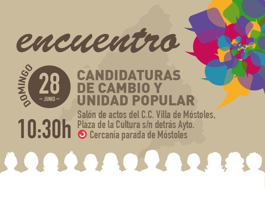 Encuentro de Candidaturas de cambio y unidad popular