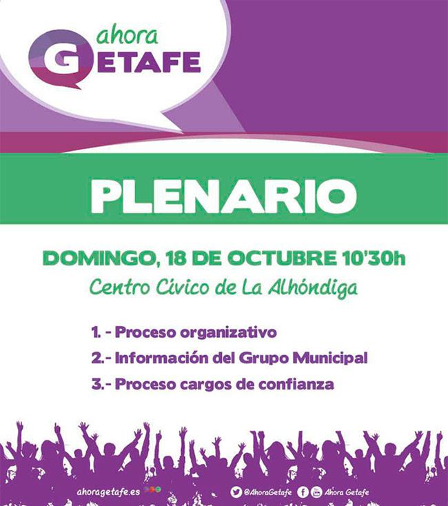 Asamblea-Plenario Ahora Getafe