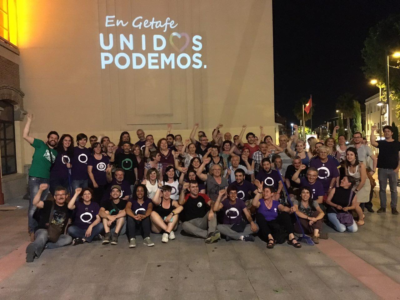 Arranca la campaña Unid@s Podemos.