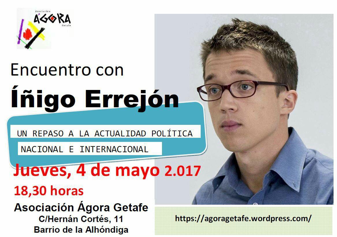 Encuentro con Íñigo Errejón