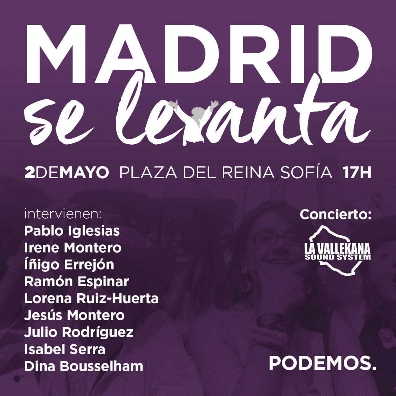 MADRID se levanta