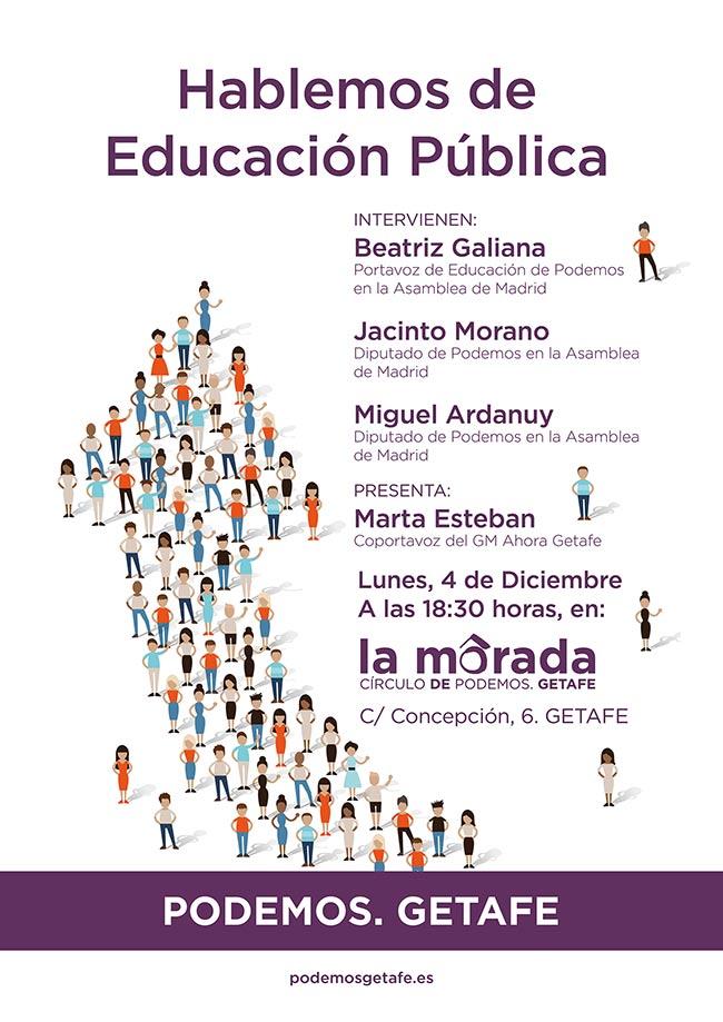 Hablemos de educación pública