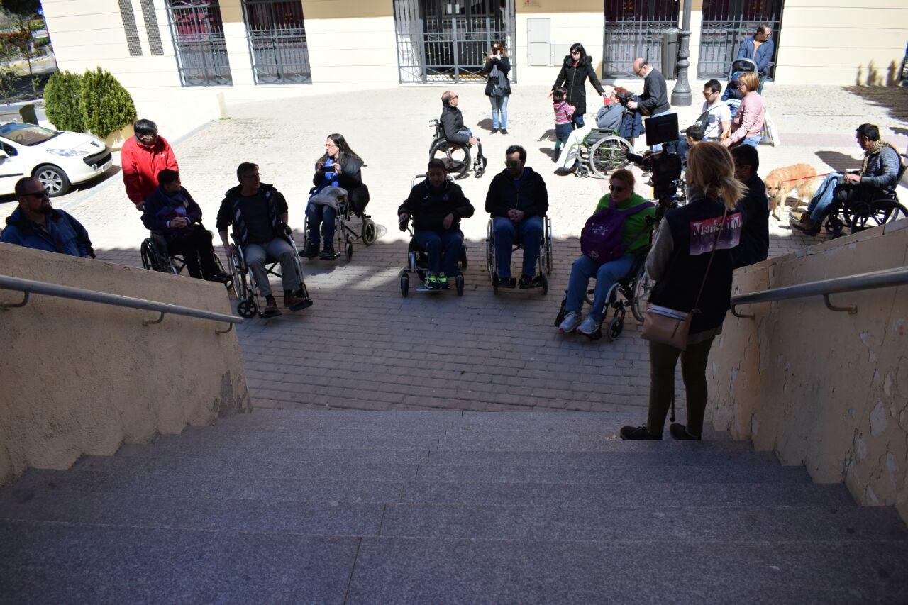 Podemos Getafe pregunta al Gobierno municipal por la situación de implementación del plan estratégico de accesibilidad