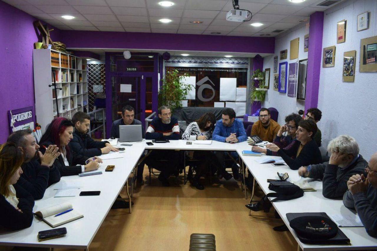 Getafe acoge la primera reunión de los Círculos de la zona sur de Madrid de esta legislatura