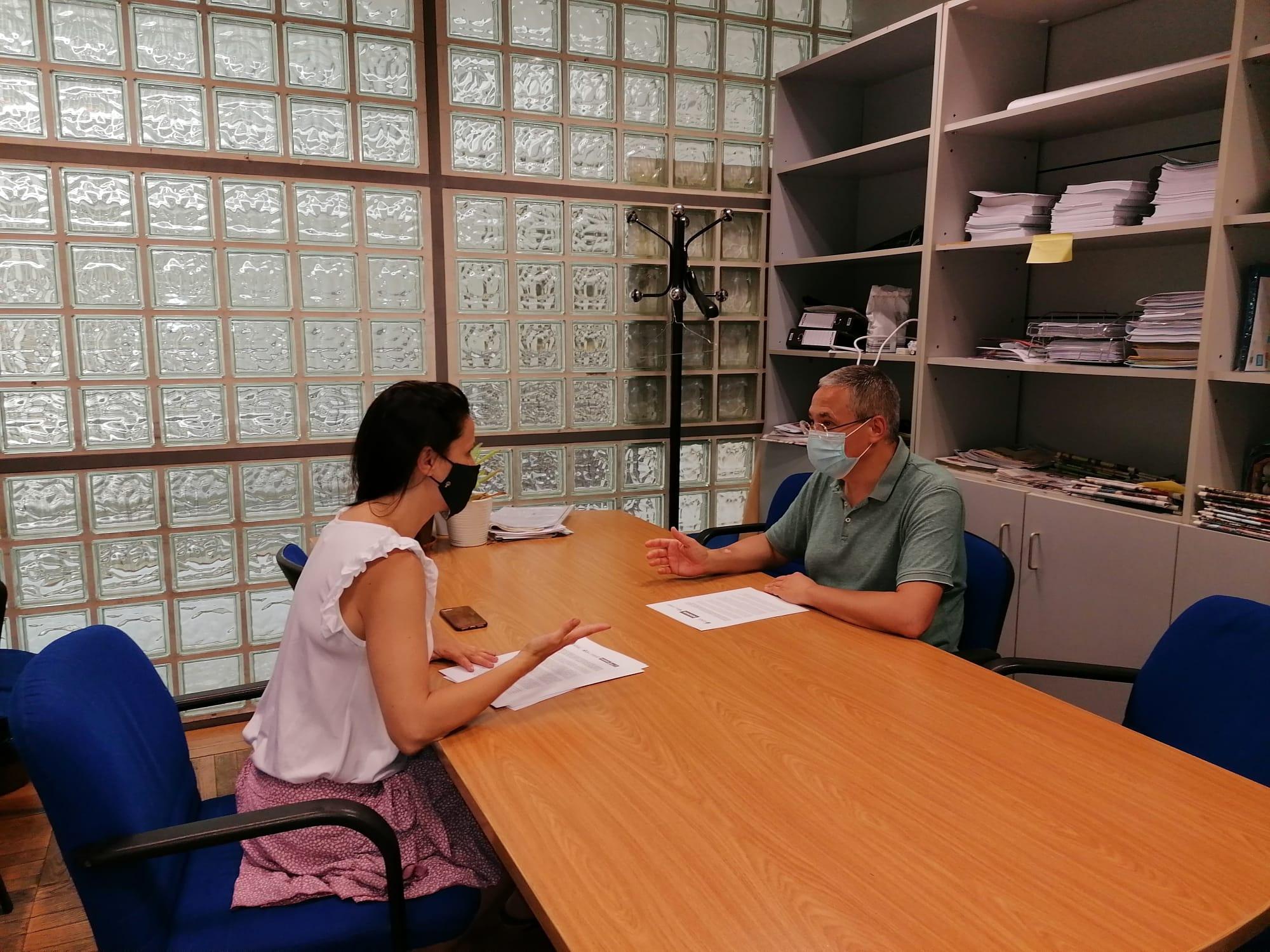 Podemos y Más Madrid-Compromiso con Getafe se reúnen para trabajar por una salida social a la crisis sanitaria