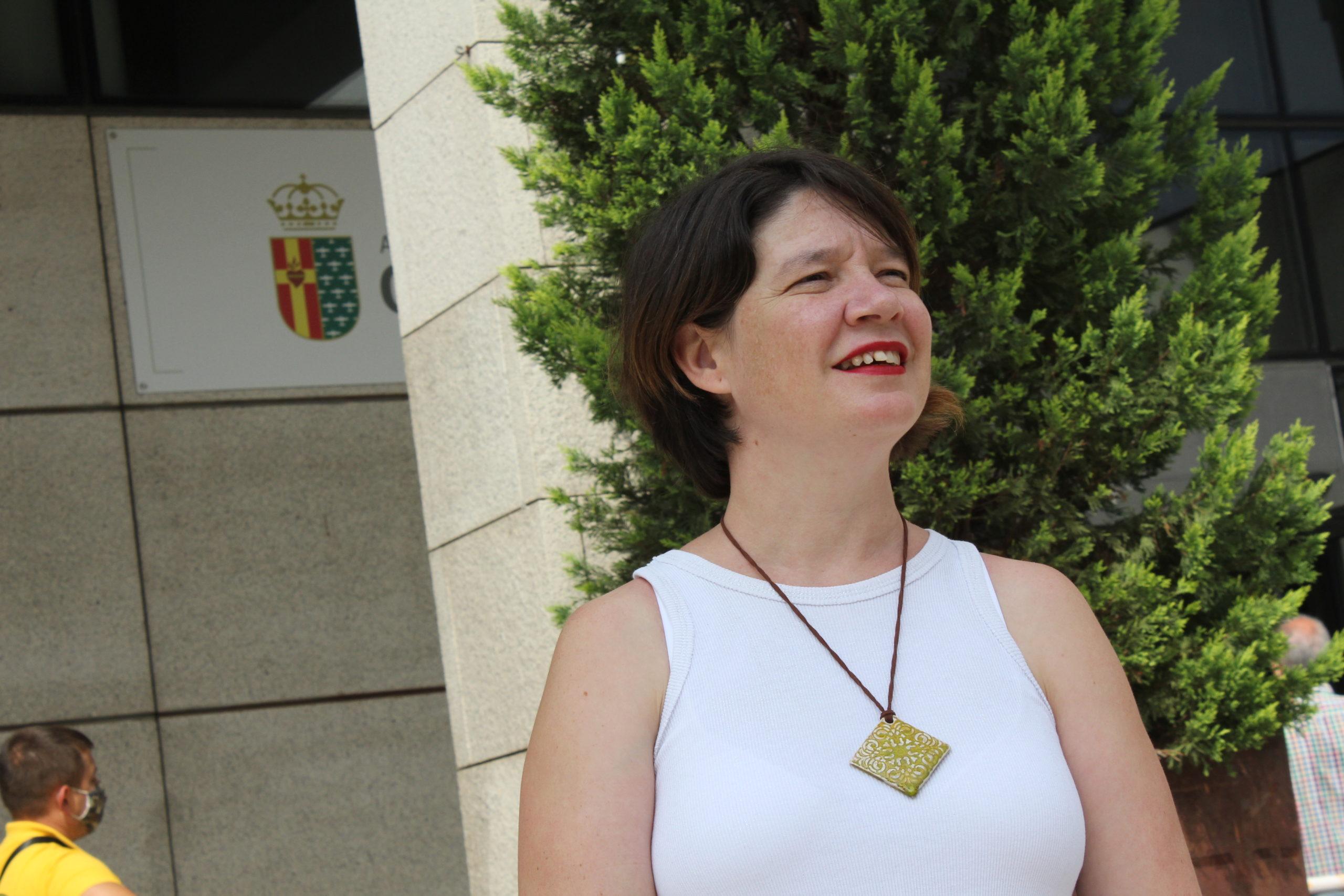 La concejala de Podemos Getafe, Ana Calcerrada, deja su acta: «Estoy segura de que mis compañeros lo seguirán haciendo genial»