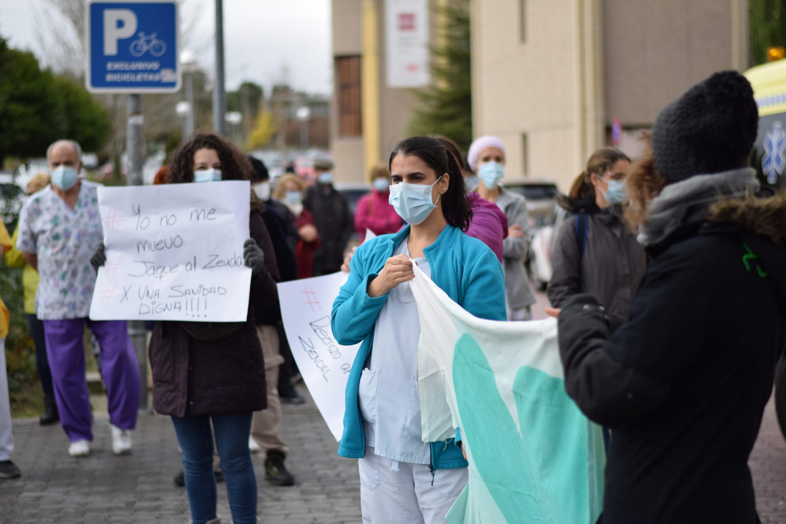 Podemos Getafe insta a la Comunidad de Madrid a cubrir las plazas de los traslados forzosos al Hospital Isabel Zendal